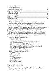 Fragen zu den Halogenen (Teil l)