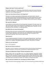 Fragen der Initiative Potsdam ohne Garnisonkirche