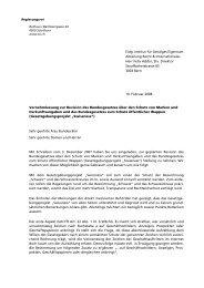 Eidg. Institut für Geistiges Eigentum Abteilung Recht ...
