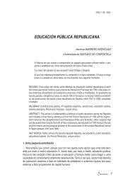 Educación pública republicana - Ruc UDC