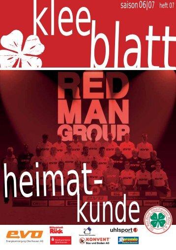 06|07 saison - SC Rot-Weiß Oberhausen eV
