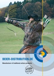 Manufacturer of traditional archery products. - Beier Distribution