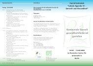 Programm und weitere Informationen - Difu