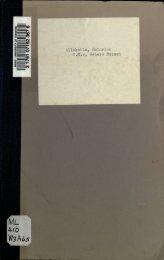 Allekotte, Heinrich C,M.v. Webers Messen - University of Toronto ...
