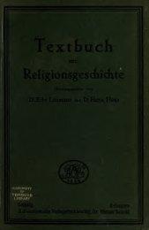 Textbuch zur Religionsgeschichte
