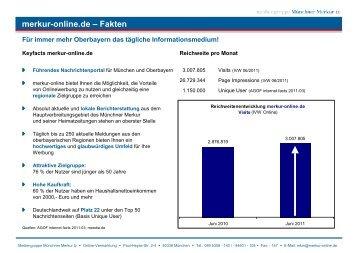 merkur-online.de – Fakten