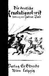 Die deutsche Revolutionslyrik, eine geschichtliche Auswahl mit ...