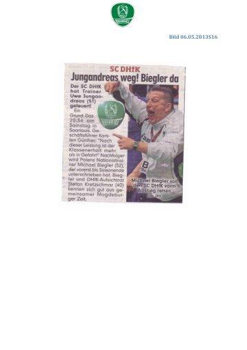 Bild 06.05.2013S16 - SC DHfK Handball