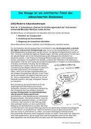 Moderne Aspekte der Adipositastherapie - Schlafapnoe Selbsthilfe