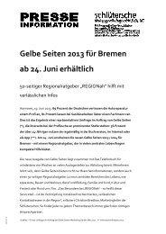 Pressetext als PDF-Download - Schlütersche Verlagsgesellschaft