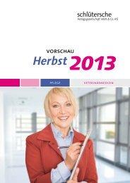 Herbst2013 - Schlütersche Verlagsgesellschaft