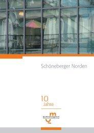 10 Jahre QM - Quartiersmanagement Schöneberger Norden