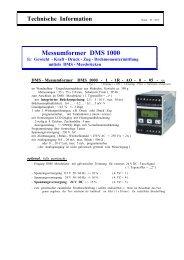 Messumformer DMS 1000