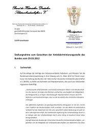 Stellungnahme zum Gutachten der Antidiskriminierungsstelle des ...