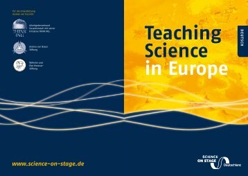 Teaching Science in Europe - Science on Stage Deutschland