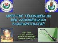 parodontologie - Semmelweis Egyetem