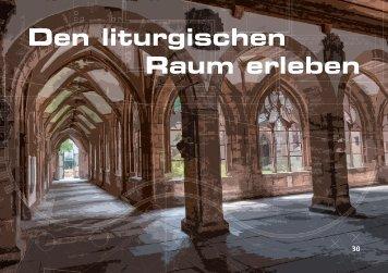 Den liturgischen Raum erleben