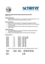 Reglement: Max-Schierer-Bayerwald-Inline-Cup 2013 - Skiverband ...