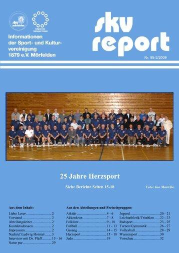 25 Jahre Herzsport - SKV Mörfelden