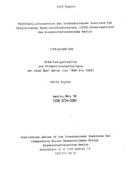 ISSN 0724-5084