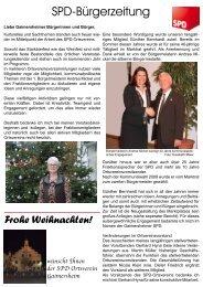 SPD-Bürgerzeitung