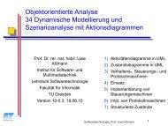 34-analysis-dynamic - Lehrstuhl Softwaretechnologie