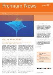 Premium News 1/2006 - Stadtwerk Winterthur
