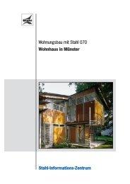 Wohnungsbau mit Stahl 070 - Stahl-Informations-Zentrum