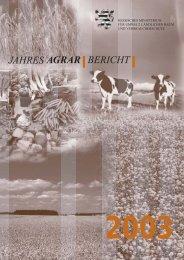 JAHRES AGRAR BERICHT - Hessen