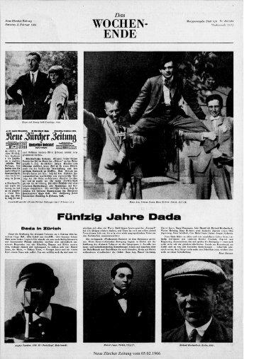 Fünfzig «Jahre Dad - Neue Zürcher Zeitung