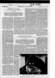 LITERATUR UND KUNST - Neue Zürcher Zeitung