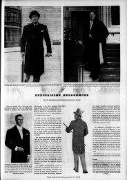 EUROPÄISCHE HERRENMODE - Neue Zürcher Zeitung