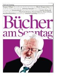 Bücher am Sonntag, 31. Mai 2009 - Neue Zürcher Zeitung