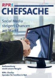Social Media steigert Chancen am Markt - RPR1