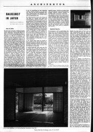 ARCHITEKTUR - Neue Zürcher Zeitung
