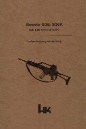Gewehr G 36, G 36 K