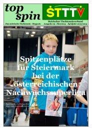 Newsletter 1 - Steirischer Tischtennisverband
