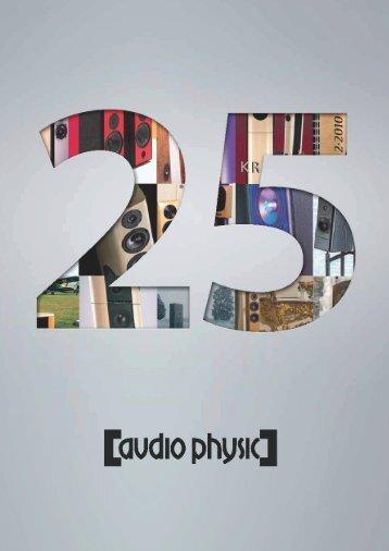 25 Jahre - Audio Physic