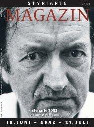 Magazin 3 / 2003 - Styriarte