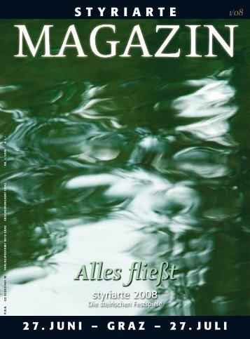 Magazin 1 / 2008 - Styriarte