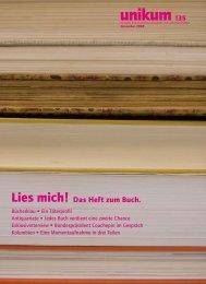 unikum 135 - sub.unibe.ch - StudentInnenschaft der Universität Bern