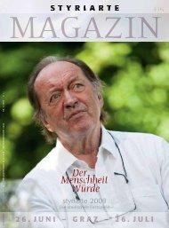 Magazin 2 / 2009 - Styriarte