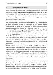 Zusammenfassung und Ausblick 79 3 Zusammenfassung und ...