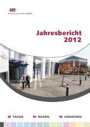 Jahresbericht 2012 - Tagungshäuser im Erzbistum Köln