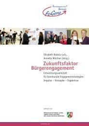 Zukunftsfaktor Bürgerengagement - Tagungshäuser im Erzbistum Köln