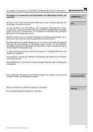 Grundlagen zur Auswertung u. Interpretation von ... - technihima