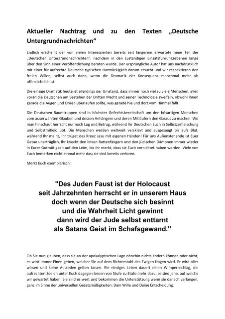 Vorwort erwache - Terra - Germania ed5fd4ed42