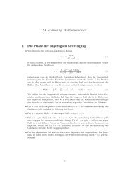9. Vorlesung Wintersemester