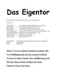 """""""Das Eigentor"""" herunterladen. - Theaterverlag Arno Boas"""