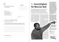 Kampagnenflugblatt zum Download - Karawane für die Rechte der ...
